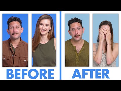 Interviewed Before and After Our First Date   Glamour