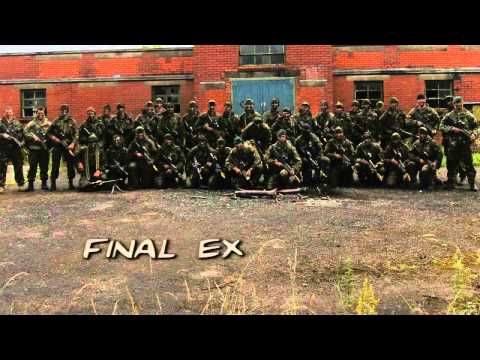 Видеоряд моментов подготовки Royal Marines, 125 взвод 2010