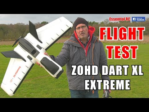 zohd-dart-xl-extreme-fpv-rc-wing-unstallable-forward-swept-wing-essential-rc-flight-test