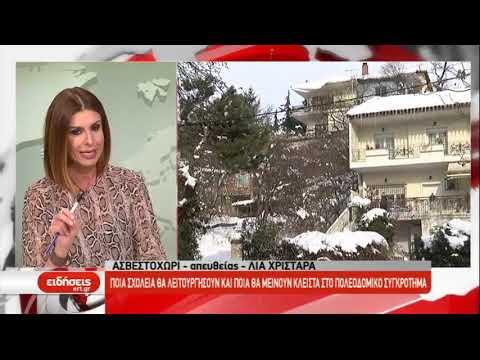 Υποχώρησαν τα φαινόμενα στη Θεσσαλονίκη – Παραμένει ο παγετός | 7/1/2019 | ΕΡΤ