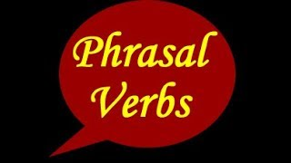 ESL Online: Phrasal Verbs