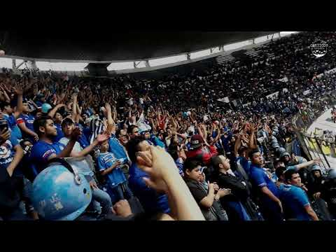 """Azul, Mi Buen Amigo"" Barra: La Sangre Azul • Club: Cruz Azul • País: México"