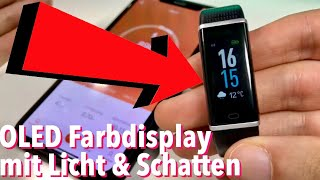 Fitness Tracker mit Farbdisplay im Test Review WILLFUL Fitness Armband
