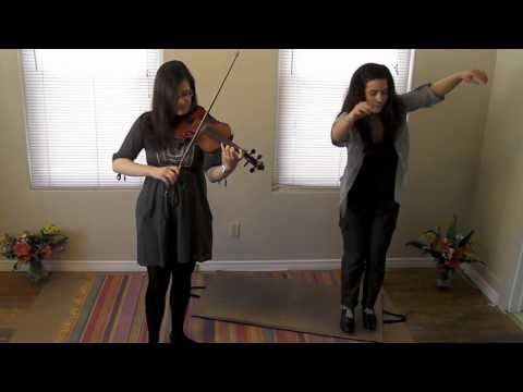 Adrianna Ciccone & Ariel Hyatt ~ Forked Deer (Fiddle & Percussive Dance)