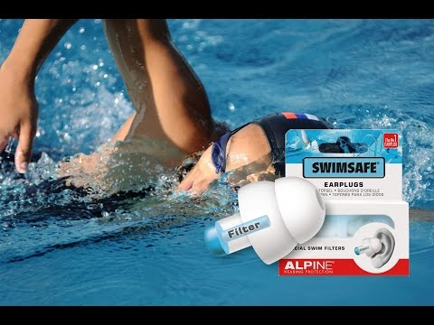 Alpine SwimSafe Ohrstöpsel: Auspacken