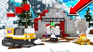 SURVIVING IN THE ARTIC MINECRAFT LANDS!