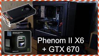 Phenom II X6 1055T + GTX 670 = ТАЩИТ, РАЗГОН И ТЕСТ В ИГРАХ