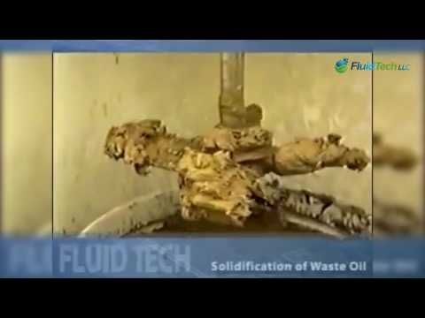 Radioactive Oil Solidification
