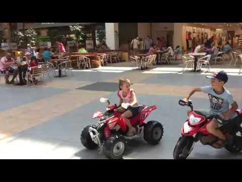 Peg Perego Polaris Outlaw   Red, 12 volt electric toy