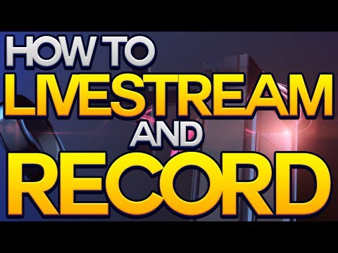 Download How to Livestream and Record on the Playstation 4 (PS4 Upload Share Video Built In Capture Card) Mp4 HD Video and MP3
