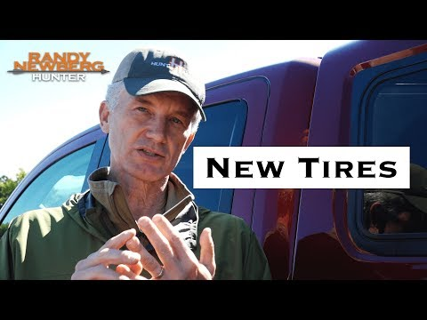 Tire Selection for Randy Newberg's new Nissan Titan Hunting Truck