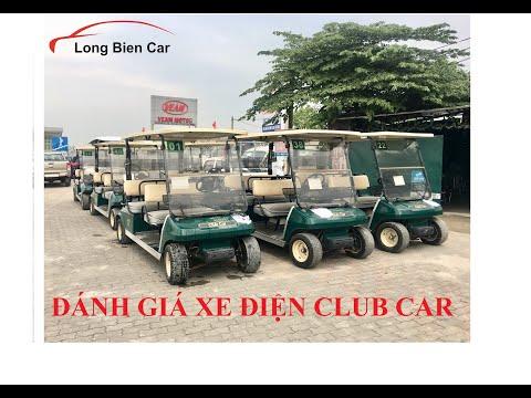 Đánh giá xe điện Club Car