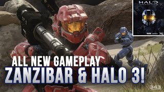 Zanzibar e Halo 3 in azione - Gameplay