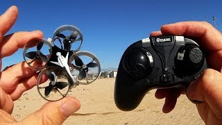 Eachine E012 Micro Ducted Drone Flight Test Review