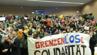 Tumult an Uni Magdeburg