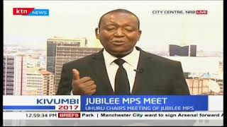 Uhuru chairs first meeting of Jubilee MPs