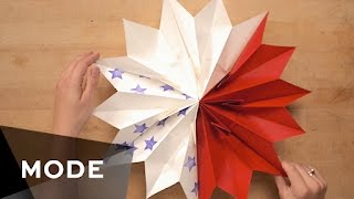 DIY Patriotic Paper Star | Glam It Yourself ★ Mode.com