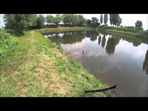 Pesca di turgoyak di video