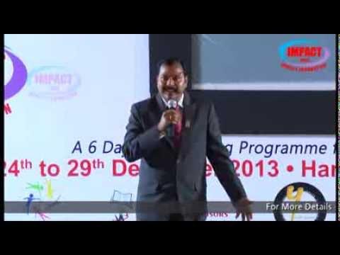 Public Speaking|VN Sadasivam|TELUGU IMPACT Hyd Dec 2013