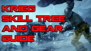 Borderlands Krieg Skill Tree and Gear Guide
