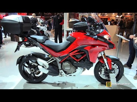 2015 Ducati Multistrada 1200 - Walkaround   2014 EICMA Milan Motorcycle Exhibition