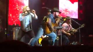 Uncaged into Kashmir into Devil Went Down to Georgia - Zac Brown Band July 29, 2018