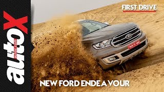 2019 Ford Endeavour Review | First Drive | autoX