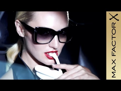 Max Factor Lipfinity Long Lasting Lipstick Challenge with Candice Swanepoel  | Max Factor