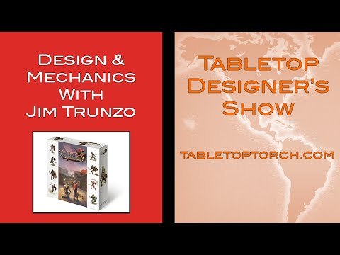 Tabletop Designer's Show With Jim Trunzo