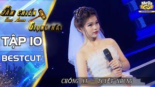 CHỒNG XA – Tuyết Nhung | Tiết mục xúc động của con gái Phi Nhung | Sàn chiến giọng hát tập 10
