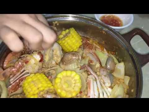 Cooking recipes – Seafood recipes – Khmer food – Asian food recipes – Spicy stir fried mix seafood