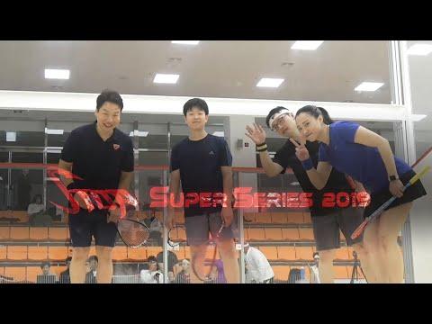 [매치업스쿼시] 정태경-박문수 vs 오성령-박성진 s-S-top Super Series 2019결승 1게임
