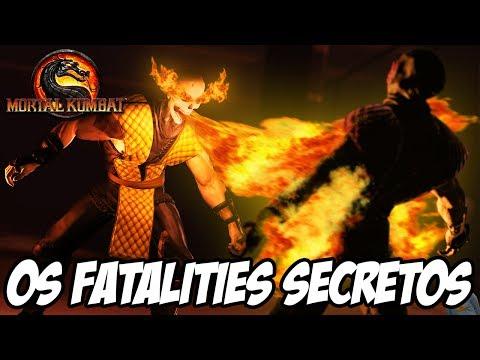 Kratos Mortal Kombat Fatality