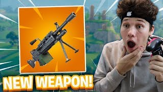 *NEW* LIGHT MACHINE GUN (LMG) IN FORTNITE