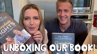 Finally Unboxing Our Book!