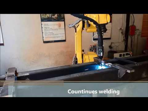 Robotic Plasma Welding Automation System