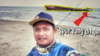 preview picture of video 'Mancing Ikan Pinggiran Pantai Seru Juga |Satui - Indonesia'