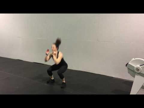 Lateral Jump Squat