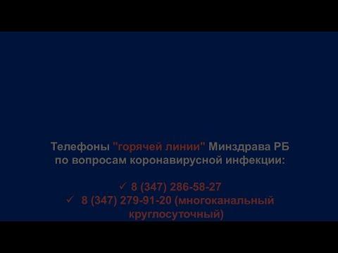 Брифинг в Министерстве здравоохранения Республики Башкортостан по недопущению распространения коронавирусной инфекции и текущей ситуации в регионе на 23 марта
