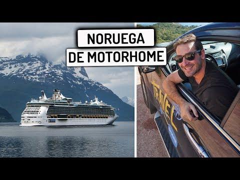 DIRIGINDO MEU CARRO NUM BARCO para Noruega | Travel and Share | Romulo e Mirella | T4 EP 256