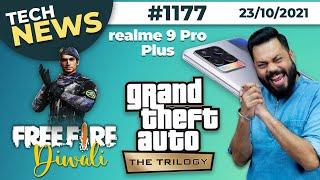 realme 9 Pro Plus Coming?, Free Fire Diwali 2021, GTA: The Trilogy,Galaxy Tab S8 First Look-#TTN1177