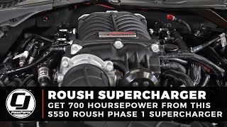 2018 Mustang GT Makes 700 Horsepower & 610 lb-ft Torque with a Roush Phase 1 Supercharger Install!