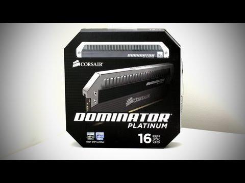 Corsair Dominator Platinum DDR3 Gaming Memory Unboxing (RAM – UGPC 2012)