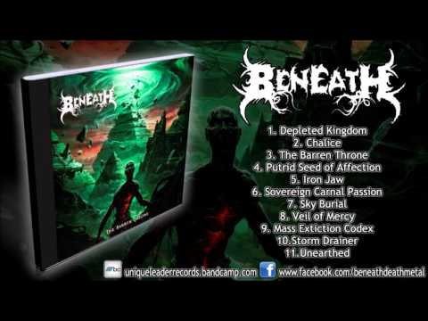 Beneath - The Barren Throne (FULL ALBUM 1080p HD) [Unique Leader Records]