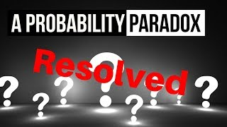 The Boy or Girl Probability Paradox Resolved | It was never really a paradox