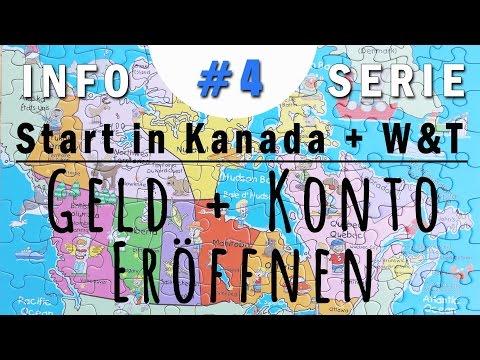 GELD + KONTO ERÖFFNEN | Work & Travel Kanada #4