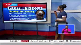 The making of Ford Kenya coup: The ousting of Moses Wetangula as Ford Kenya party leader