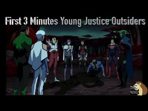 First 3 Minutes Of Young Justice Season 3 Outsiders Ep 1