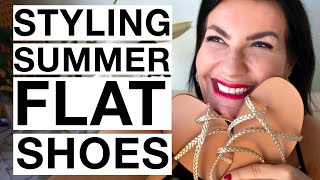STYLING SUMMER FLAT SHOES  I  French Lookbook Inspiration