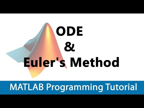 MATLAB Programming Tutorial #33 Intro to ODE & Euler's Method